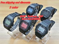 Wholesale Digit Sport Watches - Reloj Hombre SportsWatches Men Quartz LCD Analog Digit Watch Clocks LED Military Wristwatches Relogio Masculino NEW 2015Hot Sell