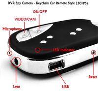 Wholesale Spy Car Security Camera - Mini DV Camera 909 Car Key Chain Spy Camera Hidden Video Recorder Keychain Camera DVR 720*480 PC Cam Security Camcorder in No Retail Box