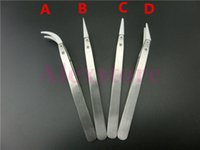 Wholesale Up Heat Tool - Insulation Ceramic tweezer Wrapping Coiler Heating Wire Wick Tool heat Stainless Steel 4 Style Nipper For DIY RDA RBA up 1300 degree DHL