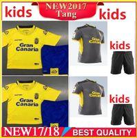 Wholesale Prince Homes - Thai quality 2017 2018 Las Palmas kids kit Soccer Jersey 17 18 PRINCE JESE VALERON home away Football jerseys Shirt