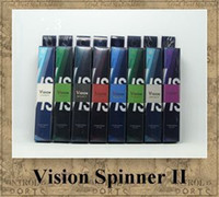 clearomizer haute qualité achat en gros de-Vision Spinner 2 1650 mAh batterie 3.3 V-4.8 V Tension Variable E-Cigarette pour CE4 protank 3 clearomizer de haute qualité vente chaude