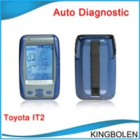 Wholesale Toyota Lexus Diagnostic Tool - 2017 Newest Version Toyota IT2 Toyota Intelligent Tester II professional Toyota Lexus Suzuki Diagnostic tool with DHL Free