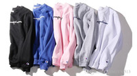 Wholesale Woman Superman Hoodie - Justin Bieber LOGO Hip-Hop kanye Superman Classic Sweater Men's Long Sleeve Couples Men's Jackets Hoodies Men   women hoodie