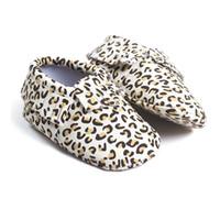 Wholesale Girl Leopard Boots - Leopard Print Baby Shoes Boy Boots Handmade Tassel Leather Children Moccasins Fashion Toddler Shoe Fringe Bebe First Walkers