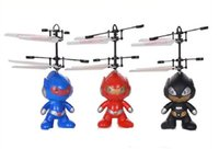 Wholesale Electronic Model Toys - Christmas Gift-- induction toy freely RC toy spaceman mini quadcopter,RC Flying spaceman electronic toys Learning & Education toy