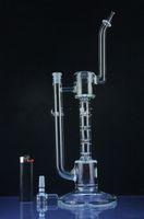 isqueiros incríveis venda por atacado-Novo !! isqueiros para vaporizador incrível upline tubos de água de vidro com spline perc bongo de vidro rigs com 14.5mm conjunta