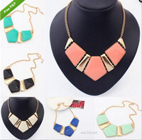 Wholesale Wholesale Necklace Bibs - Top Grade Statement Choker Necklace Hot Sale Fashion Bohemian Bib Chokers Necklaces for Women Girl Jewelry Wholesale Free Shipping - 0245WH