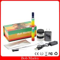 ingrosso bob marley pens-Sigaretta elettronica della batteria 650mah della vaporiera dell'erba asciutta della penna dell'erba del vaporizzatore asciutto della camera di riscaldamento di Bob Marley