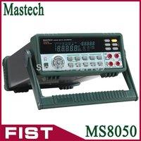 Wholesale Desktop Multimeter - Free Shipping Professional Digital Multimeter MASTECH MS8050 Desktop Multimeter