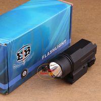 aluminium taschenlampe großhandel-Gewehr-Licht 800LM CREE XP-G XPG R5 LED imprägniern die taktische Taschenlampen-Aluminiumfackel, die für Picatinny Schiene verwendbar ist