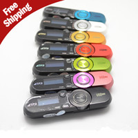 Wholesale Usb Flash Drive Yellow - 152 USB Flash Drive MP3 Player Real 2GB 4GB 8GB FM radio Recording Multi languages + Crystal Stereo Earphone 1pcs lot Free Shipping