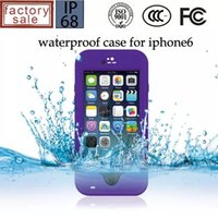 Wholesale Inch Pepper - Redpepper Red pepper Waterproof Shockproof Case For iphone 6 4.7 inch Retail Package 50pcs