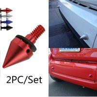 Wholesale smart car rear for sale - PC Set Spike Car Vertebra Mercedes Benz Cone Screws Smart mm Bumper Caudal Tail
