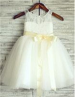 Wholesale Girls Tull Dresses - F-0028 New Arrival Tull Ball Gown Baby Girl Birthday Party Christmas Dresses Children Girl Party Dresses Flower Girl Dresses