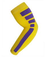 Wholesale Elite Pad - 10pcs free shipping new Elite style arm sleeve Nylon Compression Arm Sleeve Basketball Golf Baseball Sun Protection Elbow Pad Protective