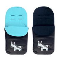 Wholesale baby sleeping bags for strollers resale online - High Quality Kids Pram Sleepsacks Baby Cart Set Footmuff Baby Stroller Carriage Sleeping Bag Warm Winter Envelope For Pram