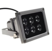 ir levou câmera matriz venda por atacado-CCTV Matriz IR iluminador infravermelho lâmpada 6 pcs Array Levou IR Noite À Prova D 'Água Ao Ar Livre À Prova D' Água para Câmera de CCTV