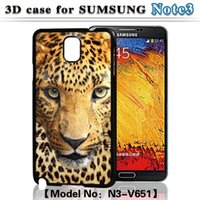 Wholesale Skull Galaxy Note Cases - For Samsung Galaxy Note 3 S3 S4 S5 Case Quality 3D Flash Tiger Lion Girls Skull Back Cover Case Free Drop Shipping Customized Order Welcome