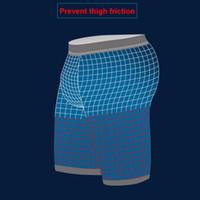 Wholesale Thigh For Men - Sports underwear Prevent thigh friction men's underwear shorts cotton brand designer For Men Basketball Running Gym Jogging Compression Tigh