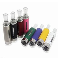Wholesale evod vape atomizer for sale - Group buy Electronic Cigarette EVOD MT3 Atomizer ml ejuice Vaporizer With Side Window Threading Compatible To Various Vape Battery Colors
