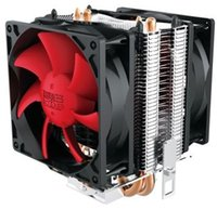 Wholesale Mini Fan Cpu - PCCOOLER 2pcs 8cm fans 2 heatpipes CPU cooler Redsea mini enhanced (HONGHAI mini ZENGQIANG) for multi-platform LGA115X 775 AM3 AM2 FM1 FM2