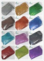 Wholesale Fine Holographic Nail Glitter - Wholesale- 12 Holographic Colors Finer size Glitter Powder for nail decoration and others 1 Lot =20g*12 colors =240g
