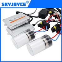 Wholesale Xenon Set - one set H7 xenon kit 55W DLT T5-C fast star canbus Ballast and Cnlight 55W H1 H3 H7 H11 9005 9006 xenon bulb