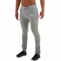 Wholesale Gasp Pants - Wholesale-New 2016 Gasp Golds Gym Fitness Long Pants Men Outdoor Casual Sweatpants Baggy Jogger Trousers Fashion Fitted Bottoms