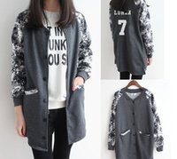 Wholesale Kpop Exo Jackets - Wholesale-Kpop exobiology long school wear baseball uniform fleece jacket EXO oh se-hoon queer wu who served