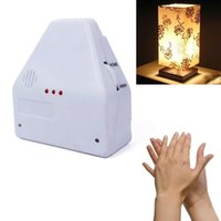 Wholesale Clap Lights Switch - Wholesale-The Clapper Sound Switch On Off Hand Clap Electronic Garget Light #65413