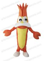 Wholesale Shrimp Costume Adult - AM2114 adult suit shrimp mascot costume, party dress,fur mascot suit