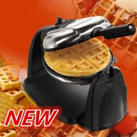 Wholesale 220V Waffle machine multifunction household electric double sided baking pan heating automatic muffin machine Waffle Makers