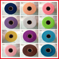 Wholesale Sales Tutu Skirts - 2017 Hot Sale Tulle Roll Spool 6inch*100yard Fabric DIY Tutu Skirt Tulle Rolls Wedding Gift Bow Craft Decoration Tulle Roll BM0001