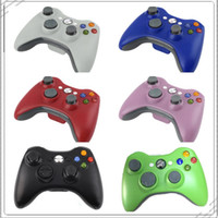 Wholesale Accepts Paypal - wholesale bluetooth wireless gamepad for xbox 360 controller wireless for microsoft video games paypal accepted