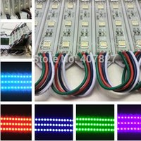 Wholesale Color Changing Led Modules Wholesale - LED RGB color changing module for channel letter or LED sign 3 LED RGB SMD 5050 waterproof 100pcs lot free shipping