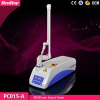 Wholesale co2 medical lasers - Hot sale 15w portable CO2 Surgical Laser  Laser CO2 Scar Delete Laser Equipment co2 surgical laser  clinical medical laser price