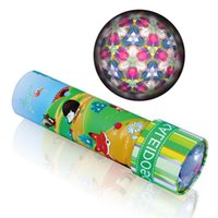 Wholesale- Metal Spins Kaleidoscope Cartoon 3D Variety Prism Toys Ruota Scienza per bambini