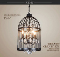 cheap 25 30sqm american country birdcage chandeliers best ce 137 inch birdcage crystal - Birdcage Chandelier