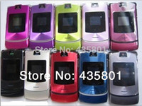 Wholesale cheap cell phones for sale - With gift Cheap Original Brand phone V3i Mobile Phone Russian keyboard amp English keyboard suport Unlocked cell phone