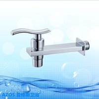 Wholesale Cheap Bidet Faucets - Chrome Polished Cheap Kitchen Furniture Sink Faucet Fitted Copper wall-Mounted Bathroom Basin Bathtub Bidet Toilet Tap