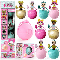 Wholesale Inflatable Boxing Toy - Girls Dolls LOL Surprise Lil Sisters Series 2 Lets Be Friends Action Figures Toys Baby Doll Kids Gifts With Retail Box