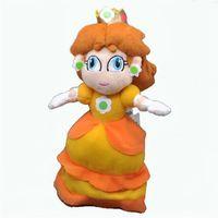 "Wholesale Princess Plush - Free Shipping Cute Super Mario Bros Plush Doll Princess DAISY 9"""