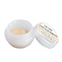 Wholesale Extension Oil - Wholesale-5pcs 5g Professional Grape Seed Oil Glue Remover cream for False Eyelash Lash Extension