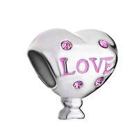 Wholesale pandora charms mom for sale - Group buy Pink Crystal Love Mom European Bead Charm Fit Pandora Chamilia Biagi Bracelet