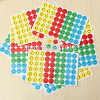 Atacado-540pcs Crianças Smiley Faces Reward Stickers Escola Professor Merit Praise Class