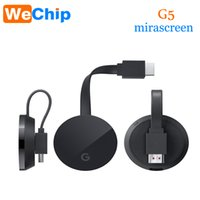 Wholesale G5 Wifi - Android TV Stick Adapter for Google Chromecast 2 Netflix YouTube Chrome Cast Mirascreen G5 Miracast HDTV wifi Display Dongle G5 tv stick