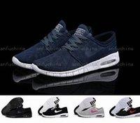Wholesale Light Blue Skateboard - Hot Sale SB Stefan Janoski 2018 Running Shoes Men And Women Fashion Konston Lightweight Skateboard Athletic Sneakers us Size 5.5-11