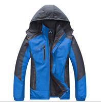 Wholesale Snowboard Jackets Brands - Brand New Men Waterproof Windproof Ski Suit Breathable Winter Warm Ski Jacket Men Outdoor Snowboard Snow Jacket