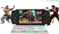 Wholesale Mp4 Free Music - 4.3inch LCD Game Console PMP MP4 MP5 Player 4gb 8GB Free 3000+ games Player Media AV-Out FM with Camera Free shipping Drop Price now