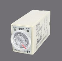 Sindax Relay Controller DC 12V H3Y-2 Delay Timer Time Relay 0-60 Secondo 12VDC Base Drop Shipping all'ingrosso